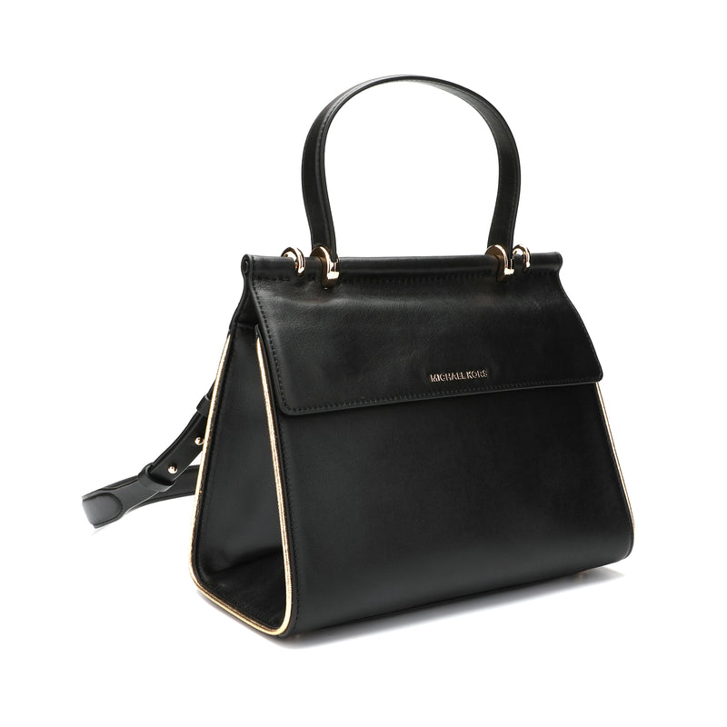 [CLEARANCE] - Jasmine Medium Leather Satchel