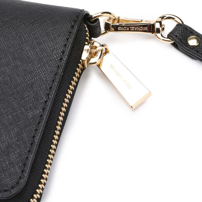 [CLEARANCE] - Leather Continental Wristlet