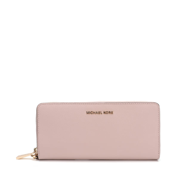 Michael Kors Leather Continental Wristlet