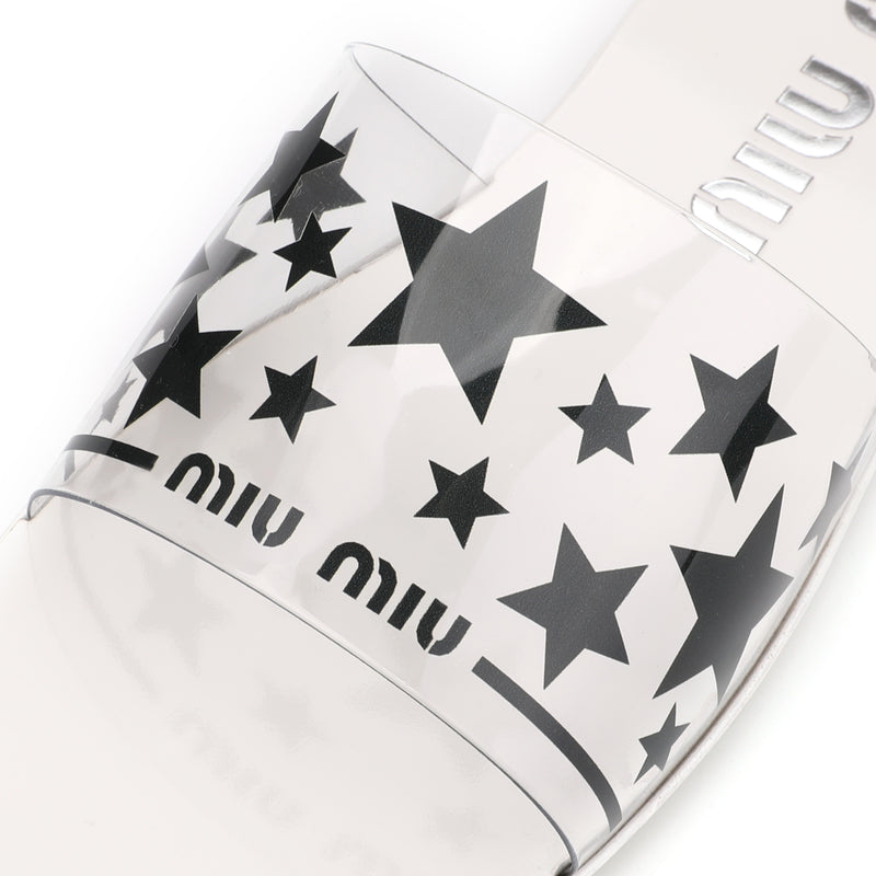 [CLEARANCE] - Flat Sandals with Stars Motif
