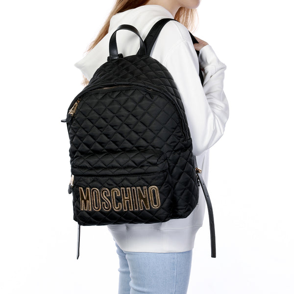 [CLEARANCE] - Quilted Backpack