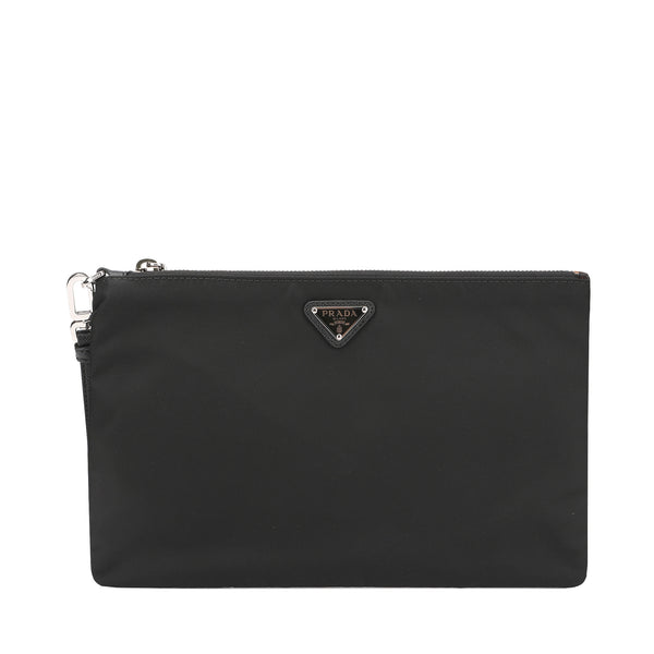 Prada Small Size Nylon Clutch Bag