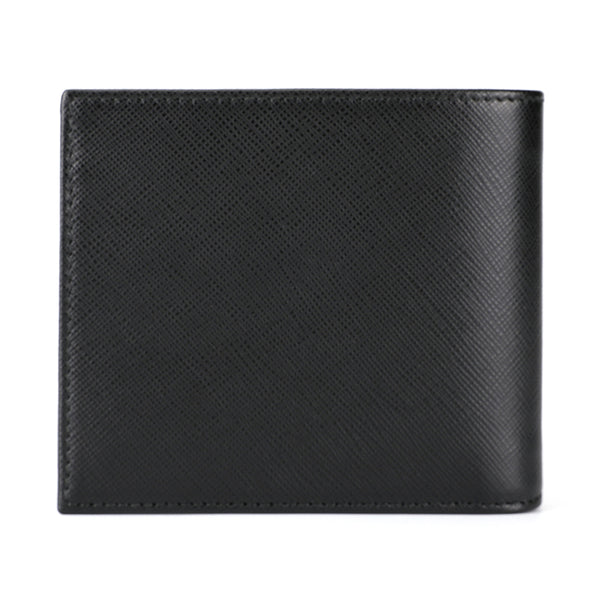 [CLEARANCE] - Saffiano Leather Short Wallet