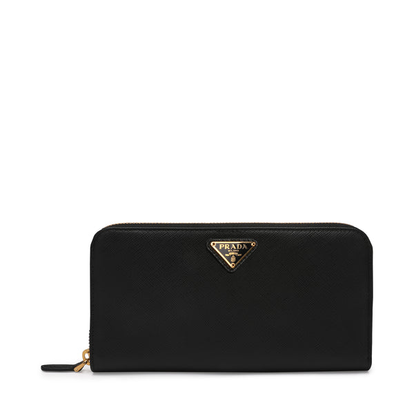 Prada Large Zip Around Wallet