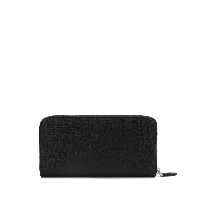 [CLEARANCE] - Saffiano Leather Logo Wallet