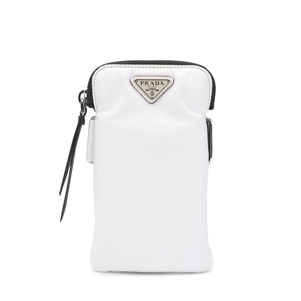 Logo Plaque Phone Pouch