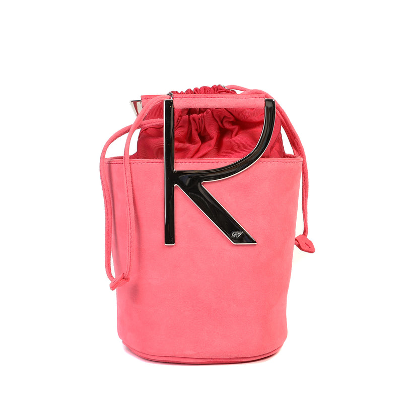 [CLEARANCE] - RV Suede Mini Bucket Bag