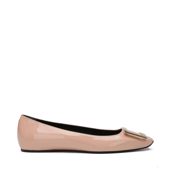 Trompette Metal Buckle Ballerinas