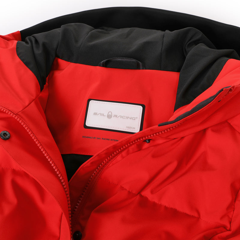 Sail Racing W Race Down Parka New