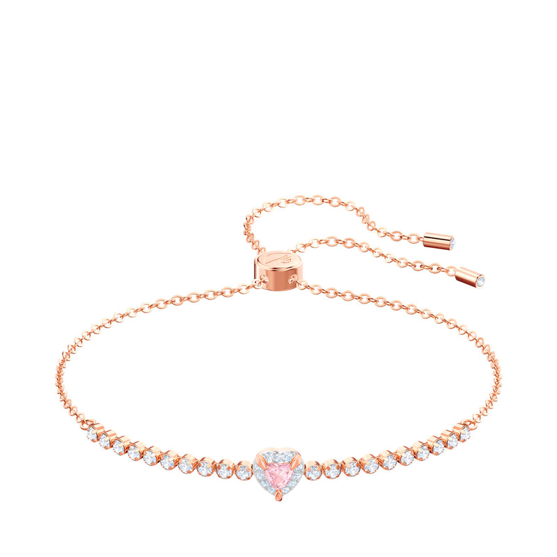Rose-gold tone plated One Bracelet