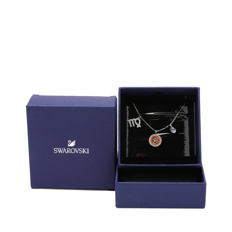Swarovski Virgo Zodiac Pendant Necklace