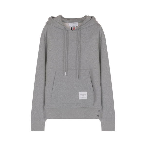 Thom Browne Center-Back Stripe Hoodie
