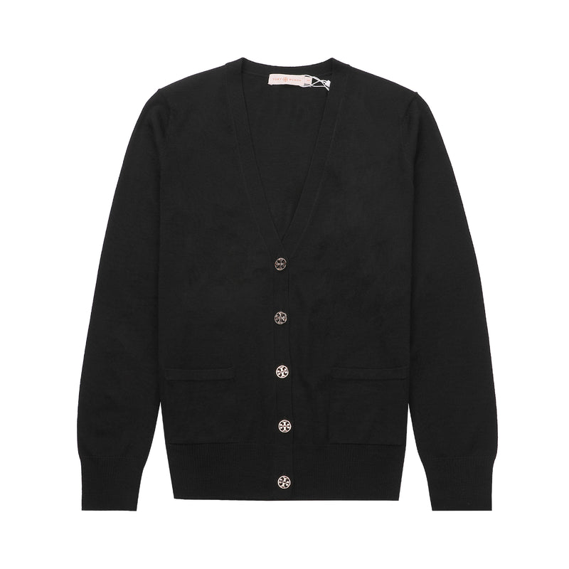 Tory Burch MADELINE Wool Knit Cardigan