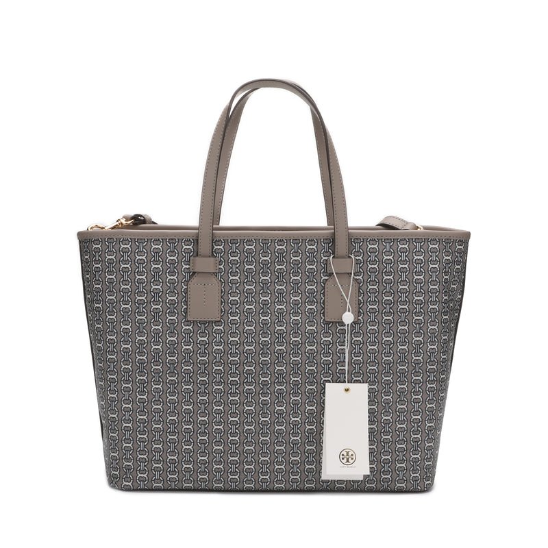 Tory Burch Gemini Link Canvas Zip Tote