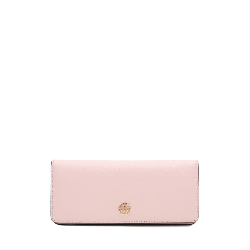 Tory Burch Robinson Slim Leather Wallet