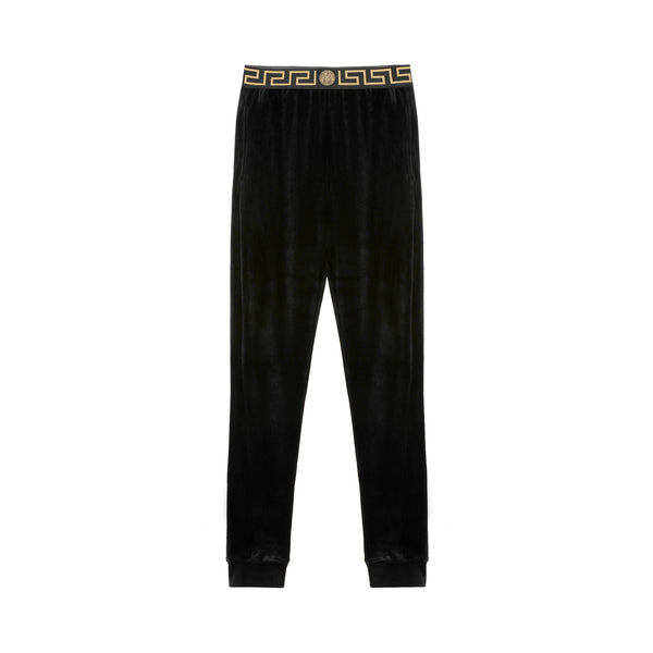 Versace Greco-band Velvet Joggers