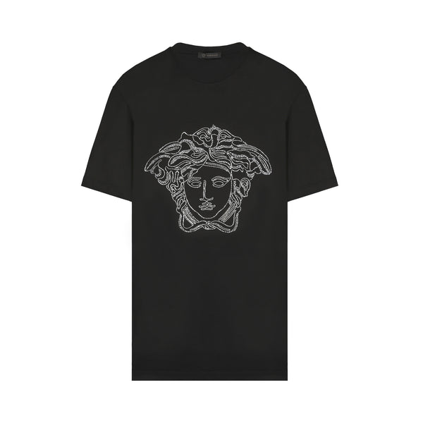 Medusa Crystal-embellished T-shirt