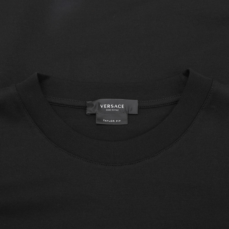 Logo-plaque print T-shirt