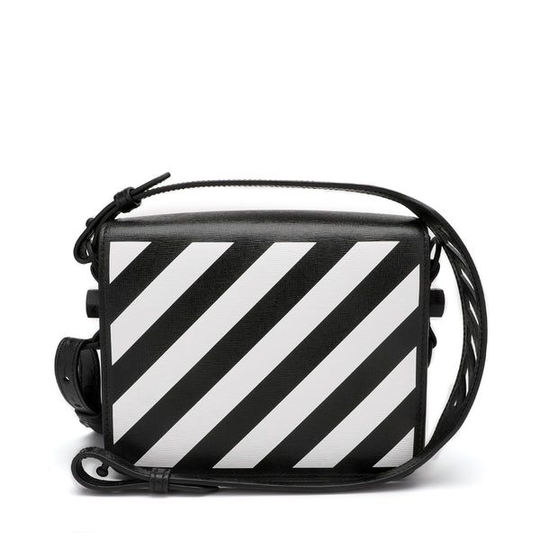 Off-White Diagonal Print Shoulder Bag