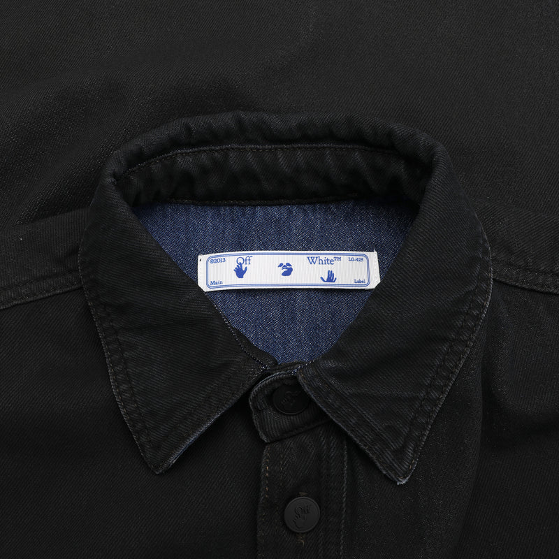 Blue arrows denim Shirt