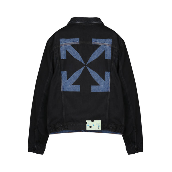 Arrows denim logo Jacket