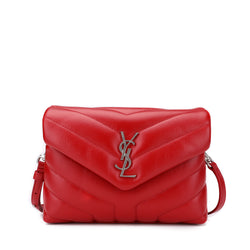 Saint Laurent Toy Loulou Monogram Shoulder Bag