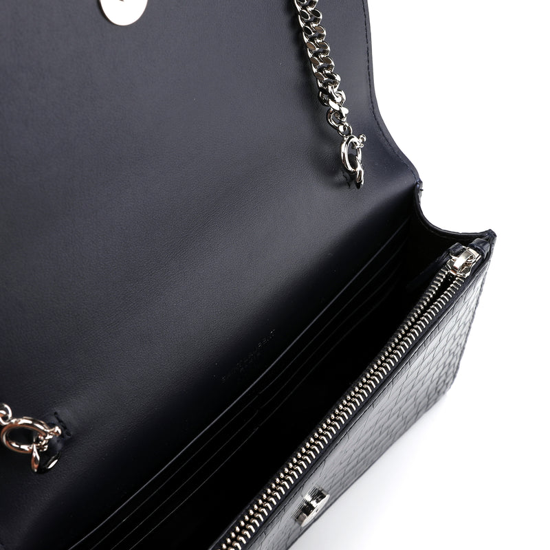 Saint Laurent Kate Chain and Tassel Wallet