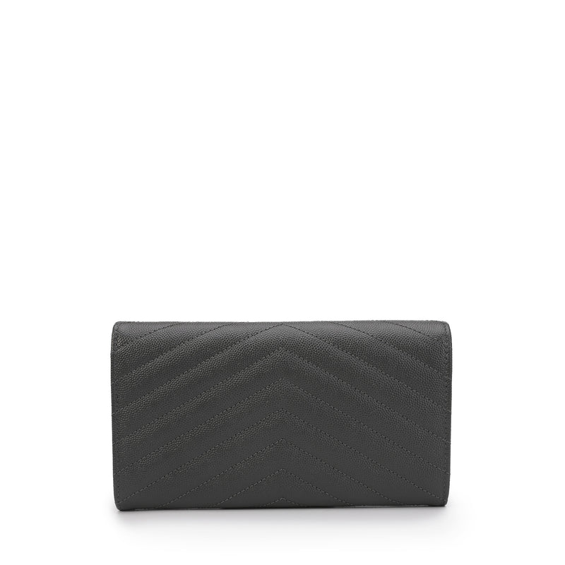 Large Monogram Quilted Wallet