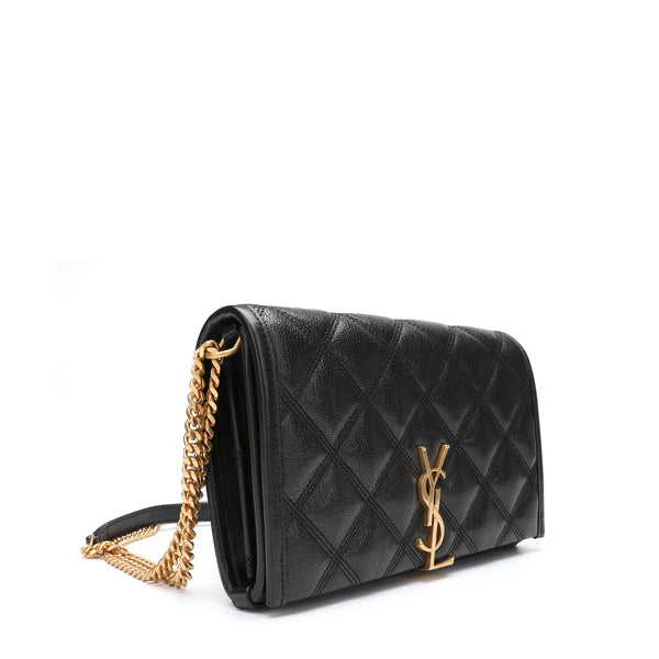Saint Laurent Becky Wallet on Chain