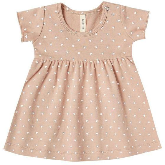 Quincy Mae Petal Short Sleeve Baby Dress