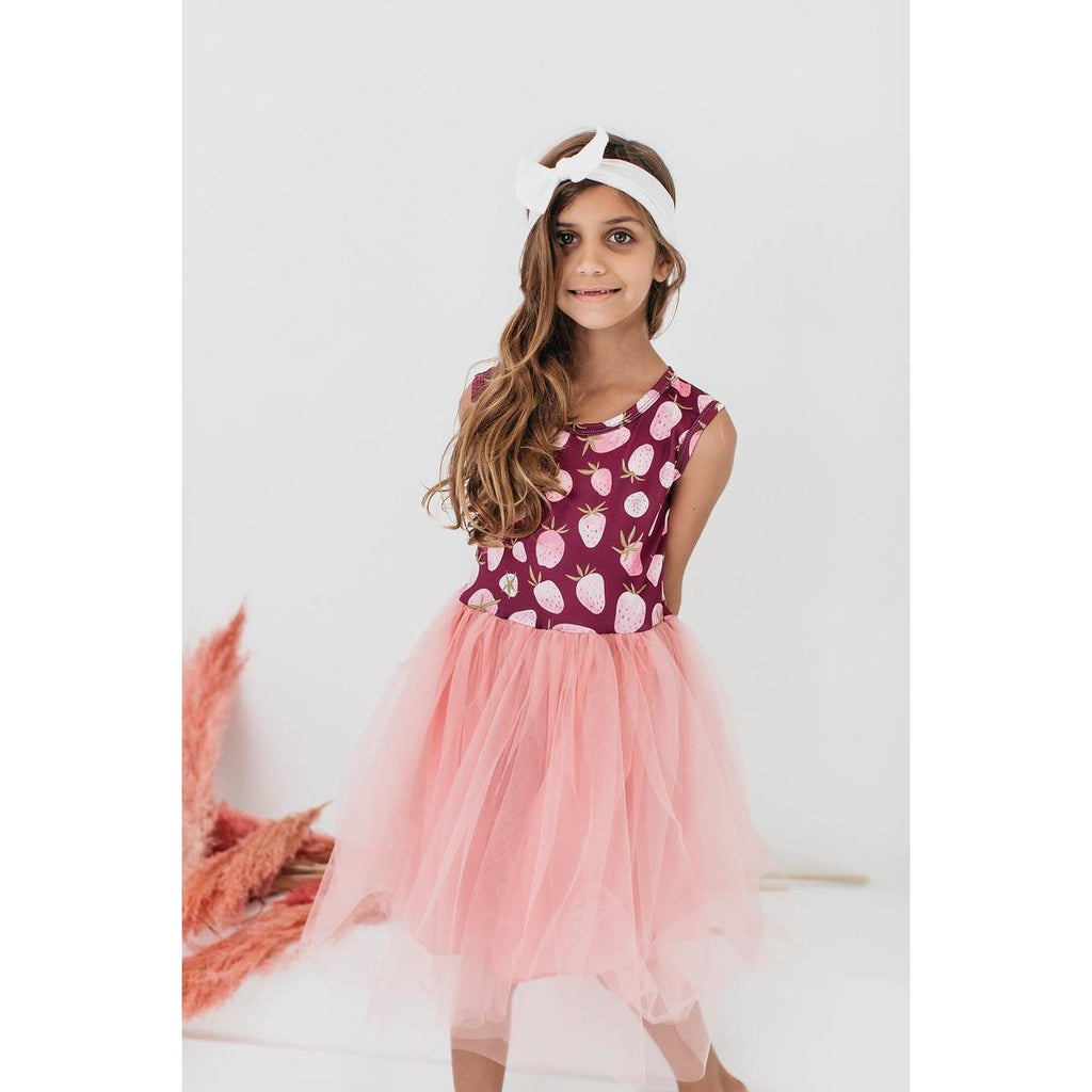 Mila & Rose Berry Bliss Tank Tutu