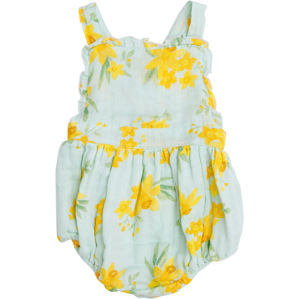 Angel Dear Daffodils Ruffle Bib Bubble