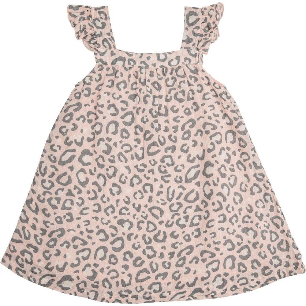 Angel Dear Leopard Sundress Pink