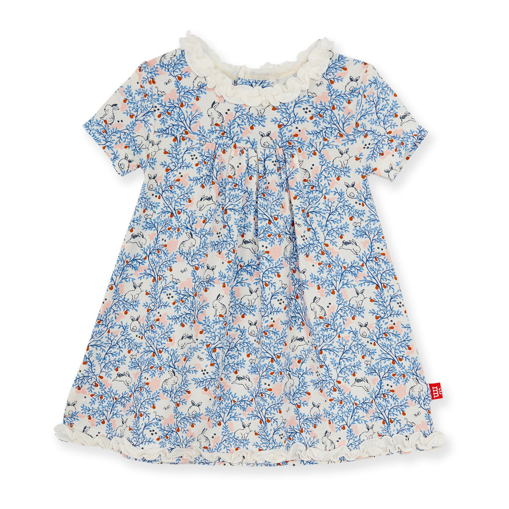 magnetic me somebunny floral modal magnetic toddler dress