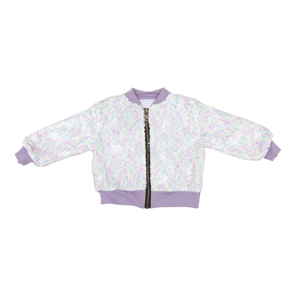 Mila and Rose Unicorn Flip Sequin Jacket