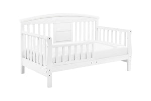 DaVinci Elizabeth II Convertible Toddler Bed (White)