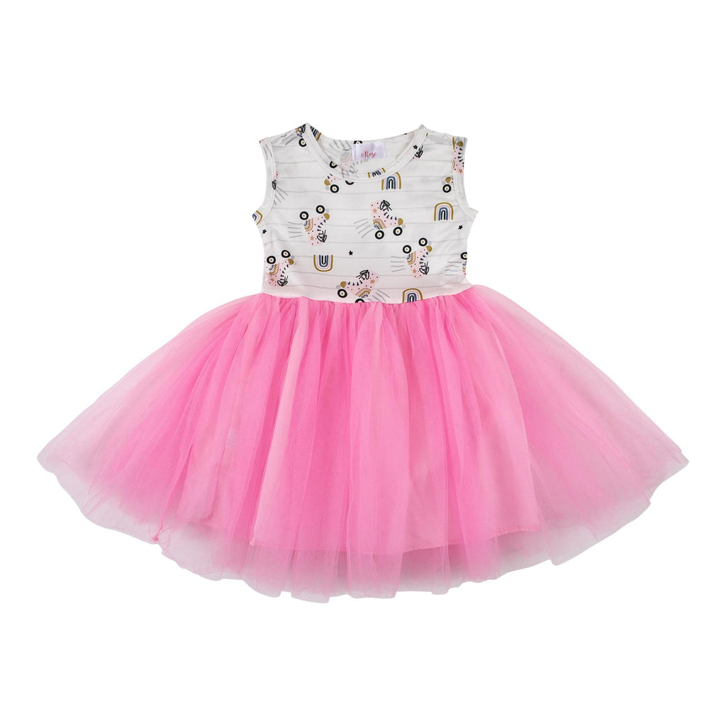 Mila & Rose Rollin Rainbow Tank Tutu Dress