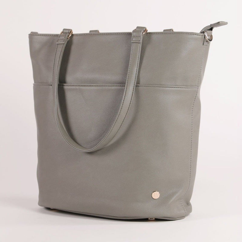 Little Unicorn Citywalk Tote - Grey Umber