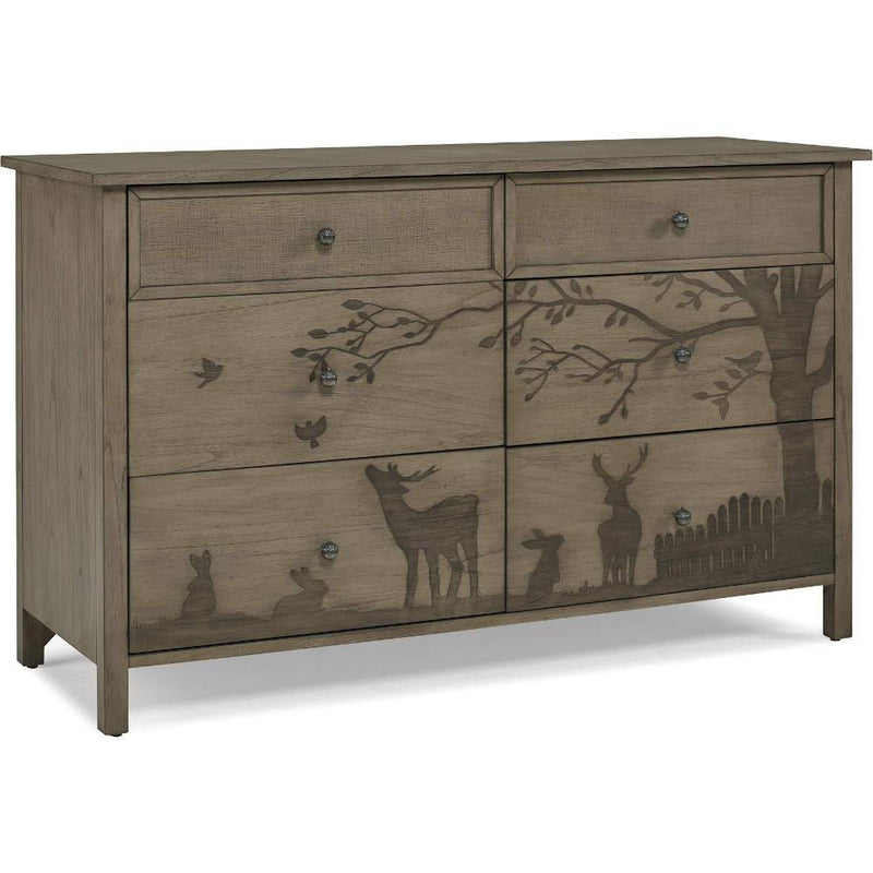 ED by Ellen Degeneres Forest Animals Double Dresser