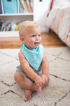 Baby Bandana Bibs - Oxford - Copper Pearl - 5