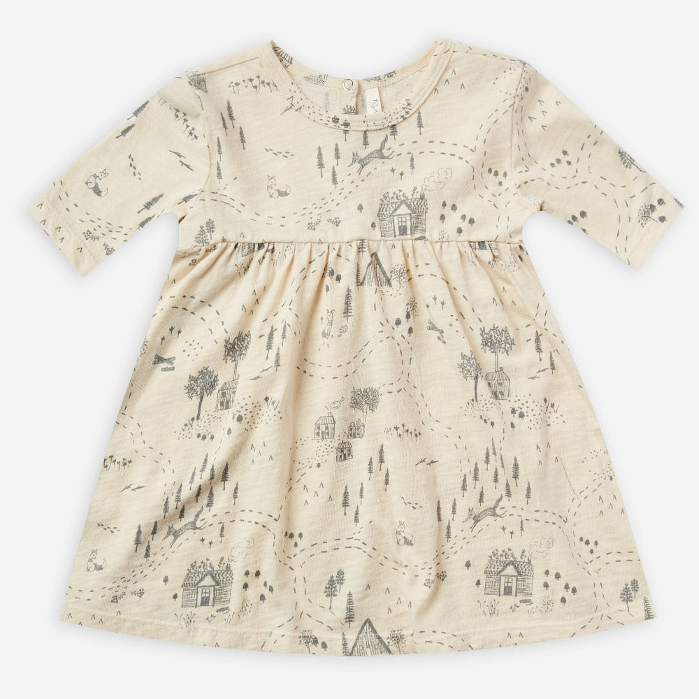 Rylee + Cru Finn Dress | into the woods