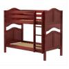 Maxtrix Twin Curved Bunk Bed