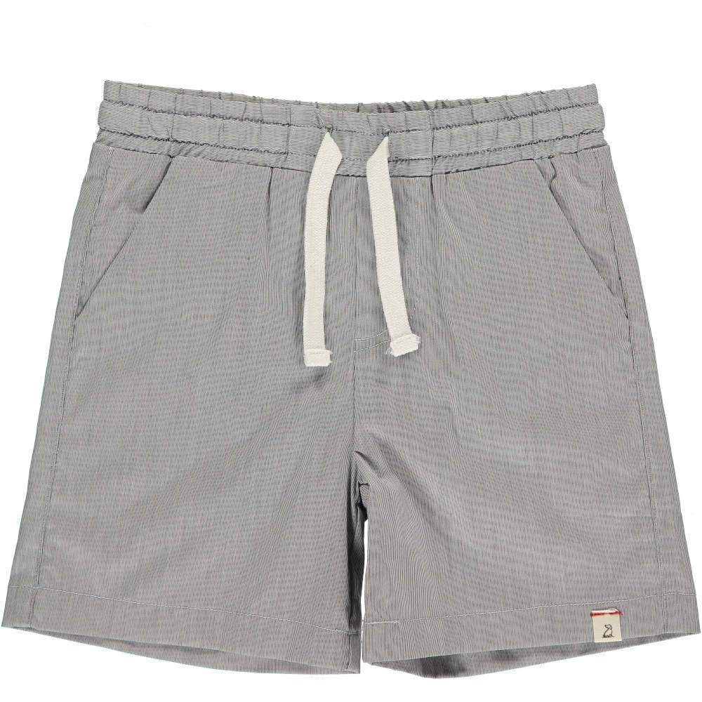 Me & Henry Grey Micro Stripe Swimshorts
