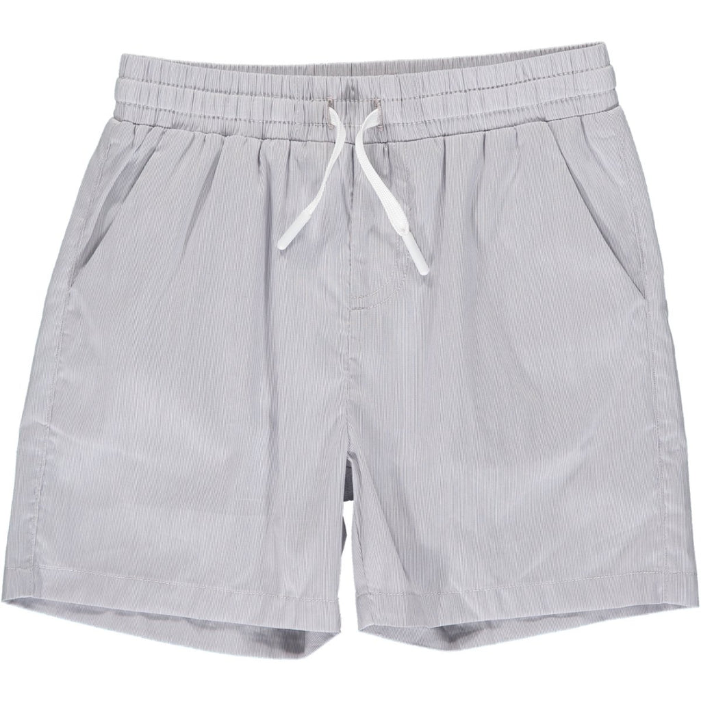 Me & Henry Surf Swim Shorts | Grey Microstripe