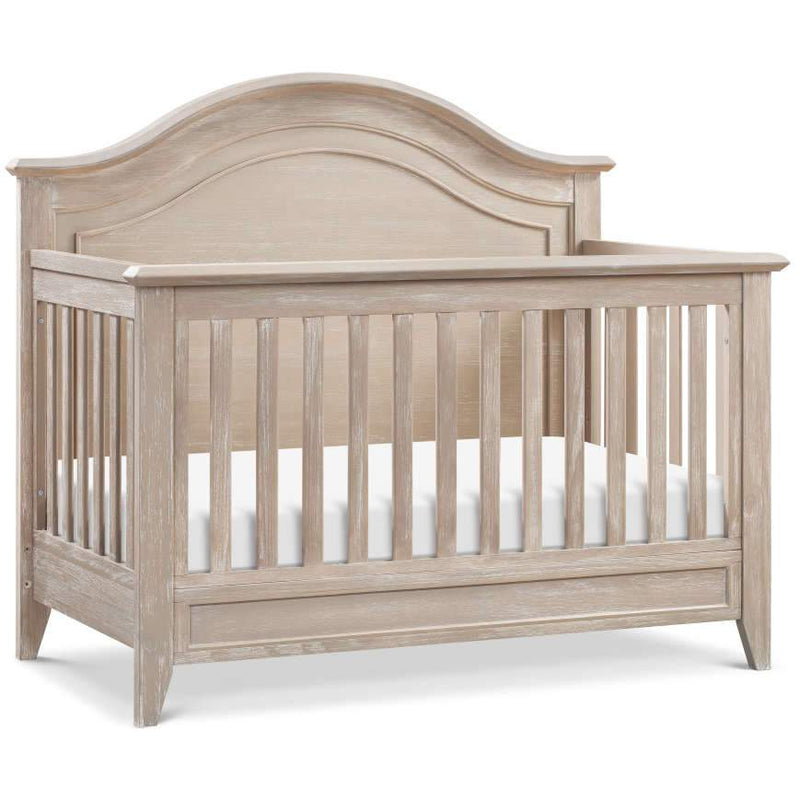Beckett Rustic 4-in-1 Convertible Curve Top Crib