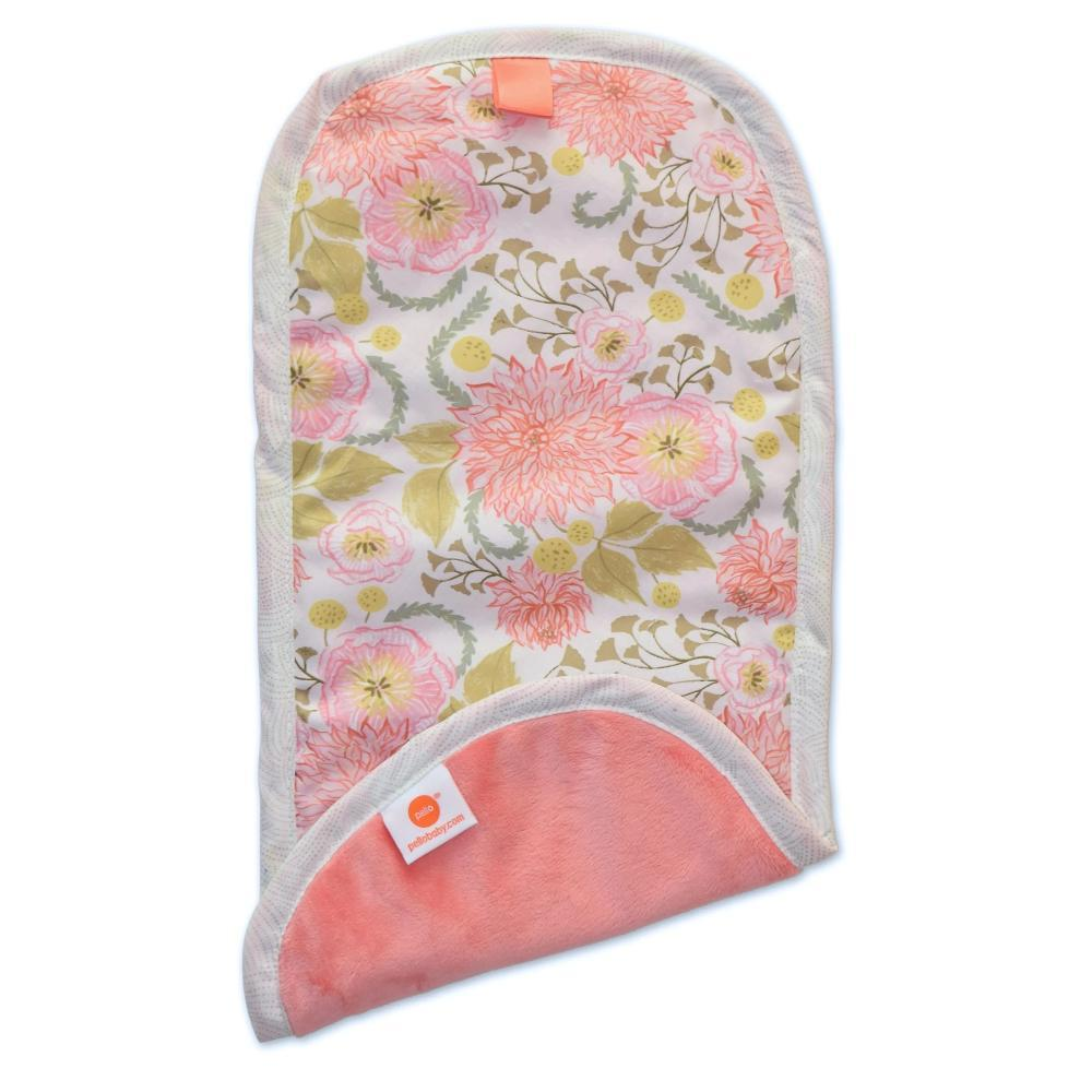 Pello Burp Cloths Meadow Coral