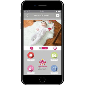 "Project Nursery 5"" Dual Connect Wi-Fi Baby Monitor System"