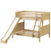 Maxtrix Twin over Full Medium Bunk Bed + Slide