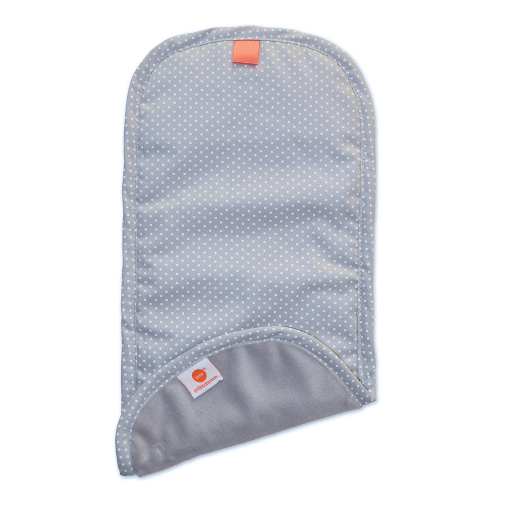 Pello Burp Cloths Serenity Light Grey