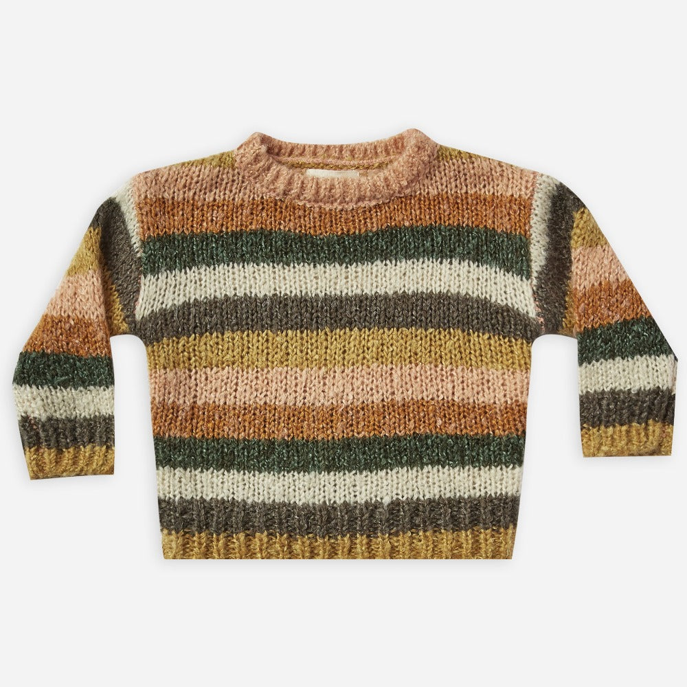 Rylee + Cru Aspen Sweater | multi-stripe